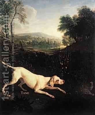 Louis XIVs Dog Tane by Alexandre-Francois Desportes - Reproduction Oil Painting
