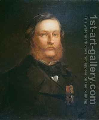 Thomas Henry Kavanagh VC 1821-82 by Chevalier Louis-William Desanges - Reproduction Oil Painting