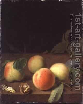 Fruit Still Life by Balthasar Denner - Reproduction Oil Painting