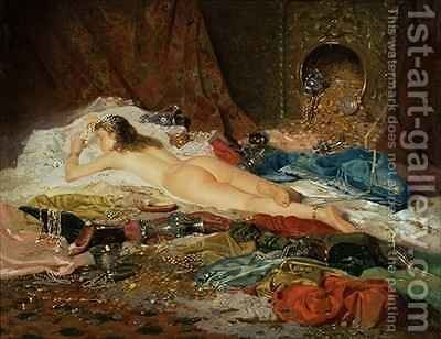 A Wealth of Treasure by Della Rocca - Reproduction Oil Painting