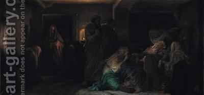 The Virgin Fainting by Hippolyte (Paul) Delaroche - Reproduction Oil Painting
