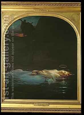 The Young Martyr by Hippolyte (Paul) Delaroche - Reproduction Oil Painting