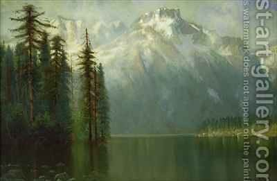 Donner Lake by Edwin Deakin - Reproduction Oil Painting
