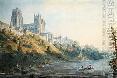 Durham Cathedral 2 by Edward Dayes - Reproduction Oil Painting