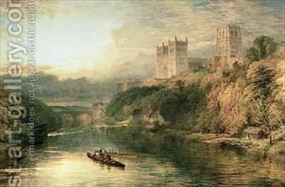 Durham Cathedral by Henry Thomas Dawson - Reproduction Oil Painting