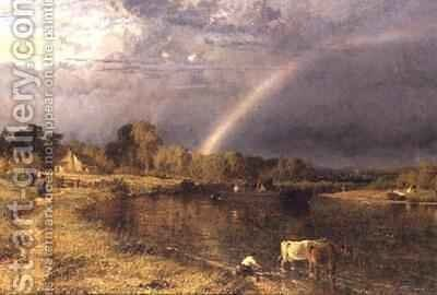 The Rainbow by Henry Thomas Dawson - Reproduction Oil Painting