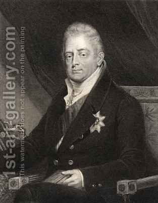 King William IV by (after) Dawe, Henry - Reproduction Oil Painting