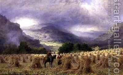 Harvest Time by Charles Grant Davidson - Reproduction Oil Painting