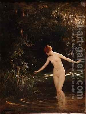 Summer by Allan Douglas Davidson - Reproduction Oil Painting