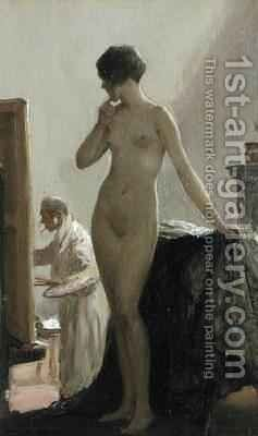 The Pose by Allan Douglas Davidson - Reproduction Oil Painting