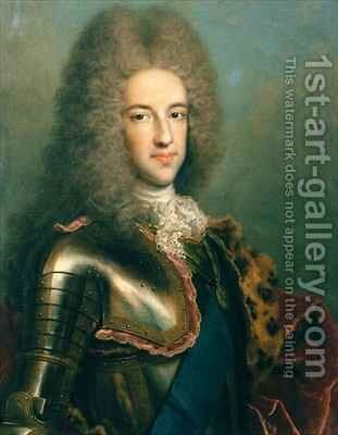 Portrait of James Francis Edward Stewart 1688-1766 by Antonio David - Reproduction Oil Painting