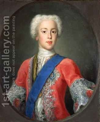 Prince Charles Edward Stewart by Antonio David - Reproduction Oil Painting