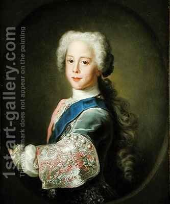 Portrait of Prince Henry Benedict Clement Stewart by Antonio David - Reproduction Oil Painting