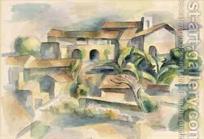 Taxco by Andrew Dasburg - Reproduction Oil Painting
