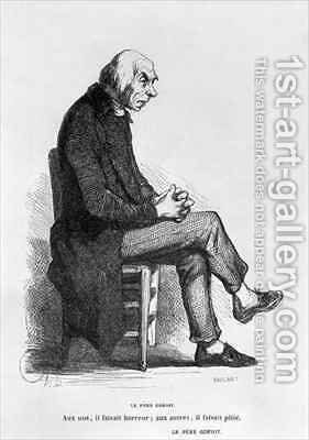 Father Goriot by Honoré Daumier - Reproduction Oil Painting