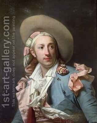 The Actor Thenard in the Role of Figaro by Henri Pierre Danloux - Reproduction Oil Painting