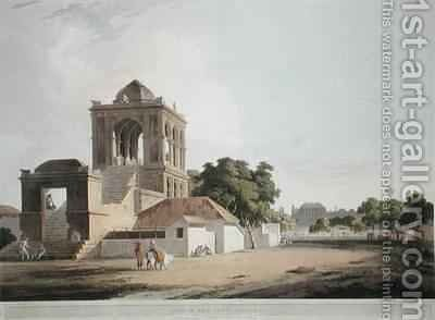 View in the Fort Madura by (after) Daniell, Thomas - Reproduction Oil Painting