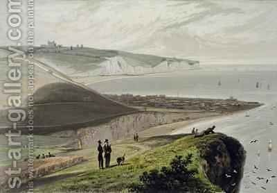 Dover by William Daniell, R. A. - Reproduction Oil Painting
