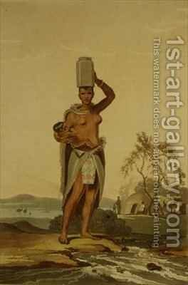 An African Woman by (after) Daniell, Samuel - Reproduction Oil Painting