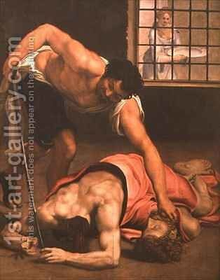 The Beheading of St John the Baptist by Daniele da Volterra - Reproduction Oil Painting