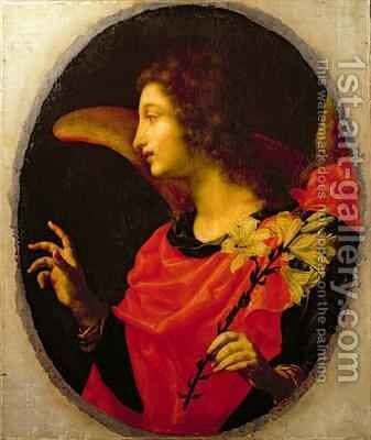 Annunciate Angel by Cesare Dandini - Reproduction Oil Painting