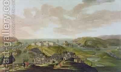 Plymouth by Hendrick Danckerts - Reproduction Oil Painting