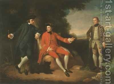 William Weddell and William Palgrave by Sir Nathaniel Dance-Holland - Reproduction Oil Painting
