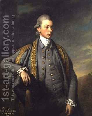 George by Sir Nathaniel Dance-Holland - Reproduction Oil Painting