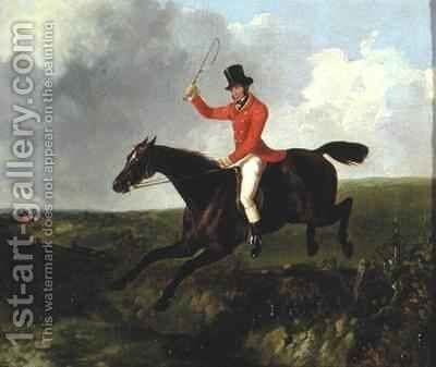 Robert Gilbert Master of the York Hounds by David of York Dalby - Reproduction Oil Painting