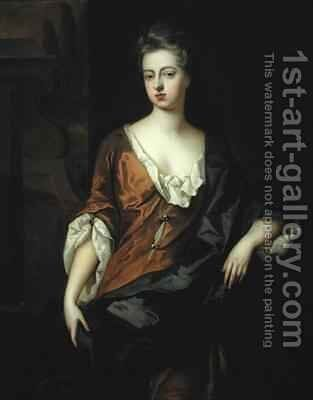 Portrait of Rachel Russell 1674-1725 Duchess of Devonshire by Michael Dahl - Reproduction Oil Painting
