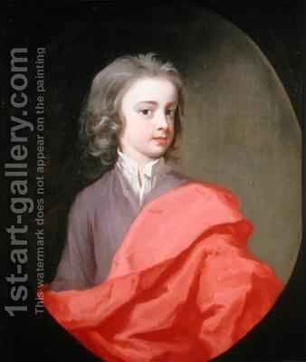Portrait of a Young Boy of the Winnington Family by Michael Dahl - Reproduction Oil Painting