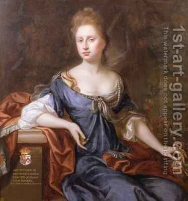 Anne Duchess of Richmond by Michael Dahl - Reproduction Oil Painting