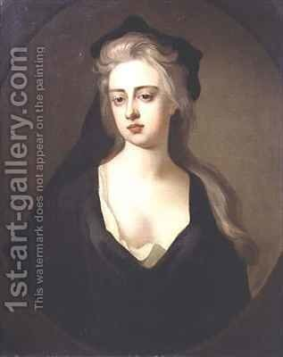 Portrait of Jane Hyde Countess of Clarendon and Rochester by Michael Dahl - Reproduction Oil Painting