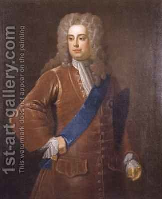Portrait of Robert Walpole by (after) Dahl, Michael - Reproduction Oil Painting