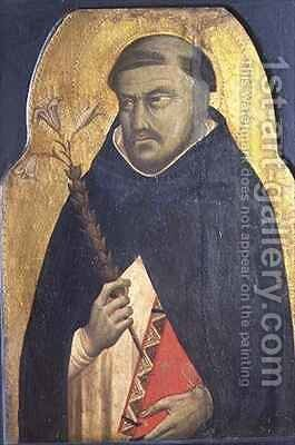St Dominic by Bernardo Daddi - Reproduction Oil Painting