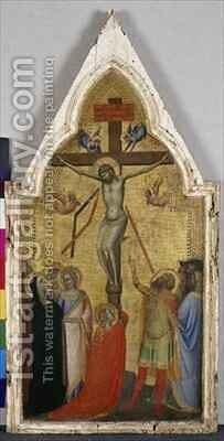 The Crucifixion by Bernardo Daddi - Reproduction Oil Painting