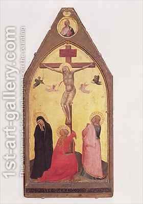 Crucifixion 2 by Bernardo Daddi - Reproduction Oil Painting