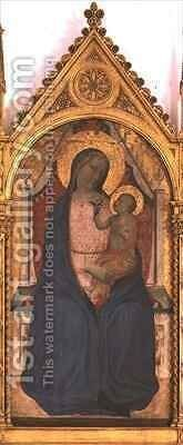 Madonna and Child 2 by Bernardo Daddi - Reproduction Oil Painting
