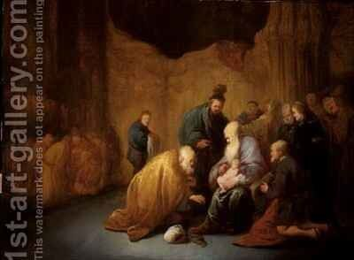 The Circumcision by Benjamin Gerritsz. Cuyp - Reproduction Oil Painting