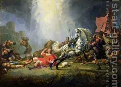 The Conversion of St Paul or The Road to Damascus by Aelbert Cuyp - Reproduction Oil Painting