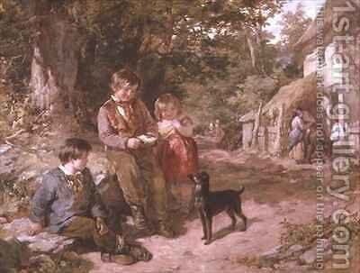 By The Wayside by James Curnock - Reproduction Oil Painting