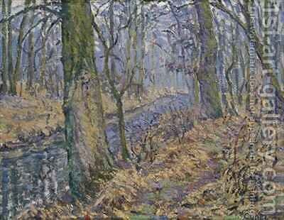 Undergrowth by Henri Cuntz - Reproduction Oil Painting