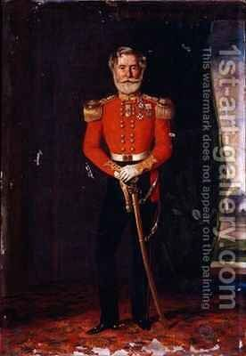 Colonel Philip McPherson CB 17th The Leicestershire Regiment of Foot by David Cunliffe - Reproduction Oil Painting