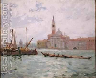 Venice by Maurice Galbraith Cullen - Reproduction Oil Painting