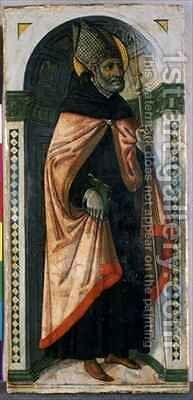 St Augustine by Guidoccio Cozzarelli - Reproduction Oil Painting