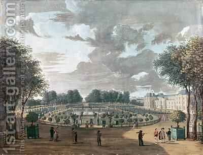The Luxembourg Gardens by Henri Courvoisier-Voisin - Reproduction Oil Painting