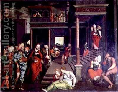 The Presentation in the Temple by Jeronimo Cosida y Ballejo - Reproduction Oil Painting