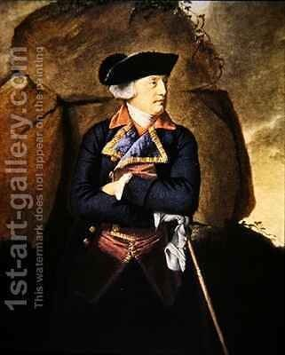 Admiral Richard Howe by (after) Copley, John Singleton - Reproduction Oil Painting