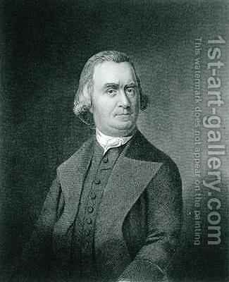 Samuel Adams by (after) Copley, John Singleton - Reproduction Oil Painting