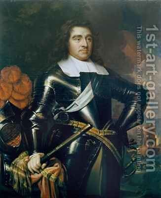 General George Monk 1st Duke of Albermarle by (after) Cooper, Samuel - Reproduction Oil Painting